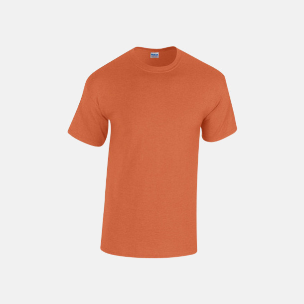 Antique Orange heather (herr) Fina bomulls t-shirts för herr, dam & barn med reklamtryck