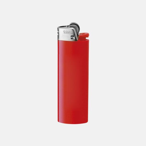 Röd Långlivade tändare med reklamtryck