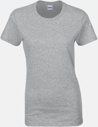 Sport Grey heather (dam) Fina bomulls t-shirts för herr, dam & barn med reklamtryck