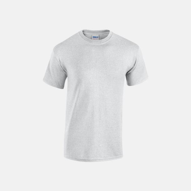 Ash Grey heather (herr) Fina bomulls t-shirts för herr, dam & barn med reklamtryck