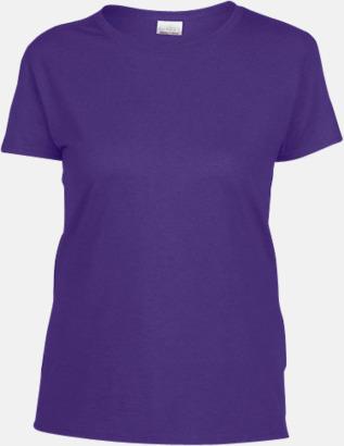 Lilac heather (dam) Fina bomulls t-shirts för herr, dam & barn med reklamtryck