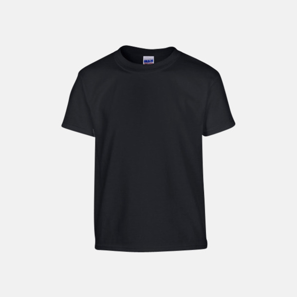 Svart (barn) Fina bomulls t-shirts för herr, dam & barn med reklamtryck