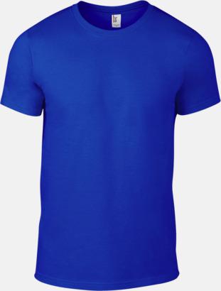 Neon Blå (herr) Snygga bas t-shirts för herr, dam & barn - med reklamtryck