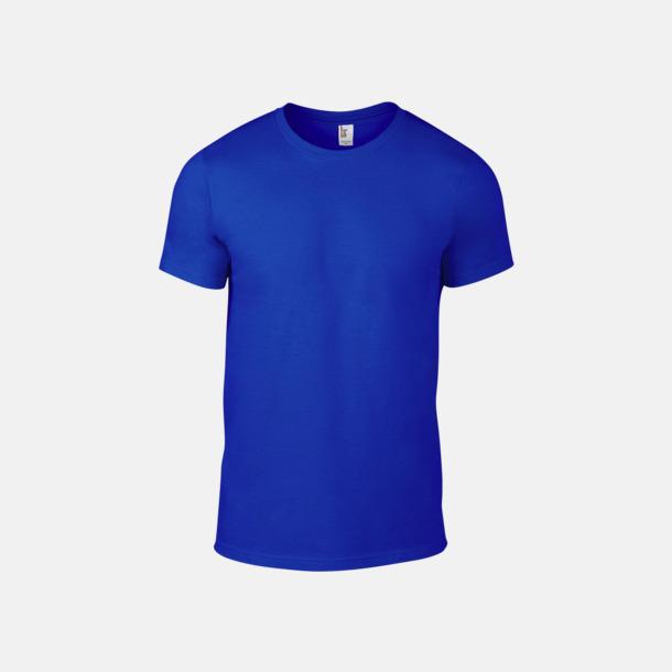 Neon Blå (herr) Snygga bas t-shirts för herr & dam - med reklamtryck