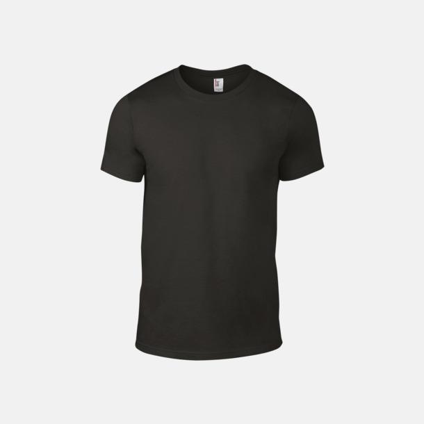 Smoke (herr) Snygga bas t-shirts för herr & dam - med reklamtryck