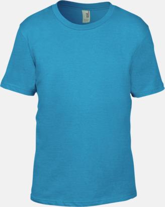 Caribbean Blue (barn) Snygga bas t-shirts för herr, dam & barn - med reklamtryck