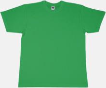 Extra fina t-shirts i herr-, dam- och barnmodell med reklamtryck