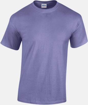 Violet (herr) Fina bomulls t-shirts för herr, dam & barn med reklamtryck