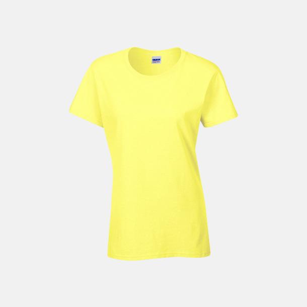 Cornsilk (dam) Fina bomulls t-shirts för herr, dam & barn med reklamtryck