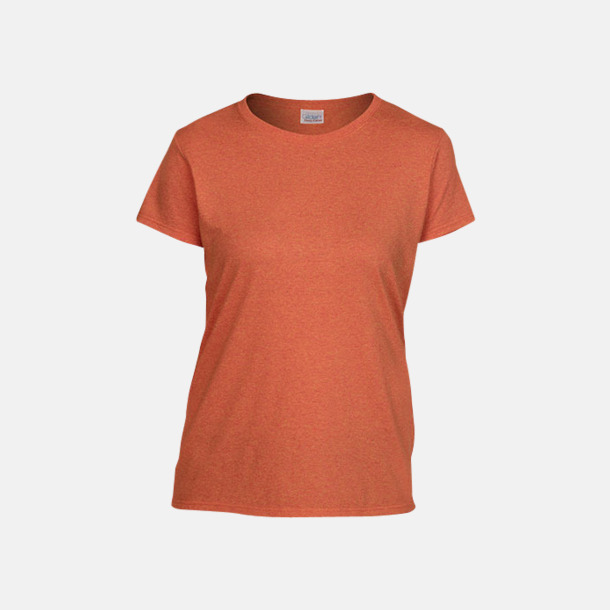 Sunset heather (dam) Fina bomulls t-shirts för herr, dam & barn med reklamtryck