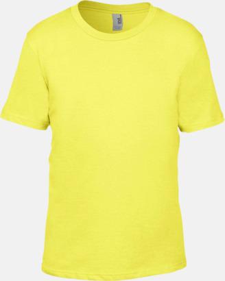 Spring Yellow Snygga bas t-shirts för herr, dam & barn - med reklamtryck