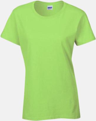 Mint (dam) Fina bomulls t-shirts för herr, dam & barn med reklamtryck