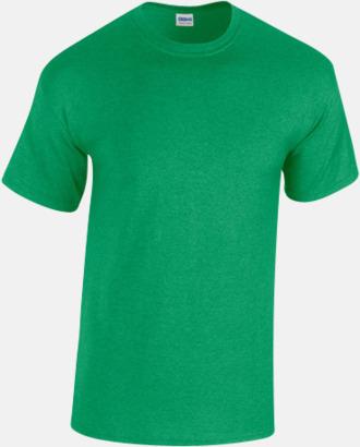 Antique Irish Green heather (herr) Fina bomulls t-shirts för herr, dam & barn med reklamtryck
