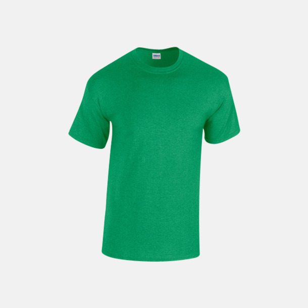 Antique Irish Green heather (herr) Fina bomulls t-shirts för herr, dam & barn med reklamtryck