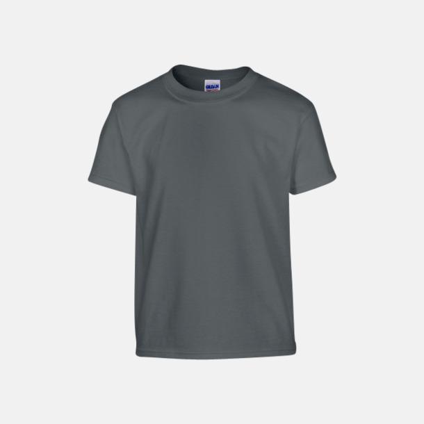 Charcoal solid (barn) Fina bomulls t-shirts för herr, dam & barn med reklamtryck