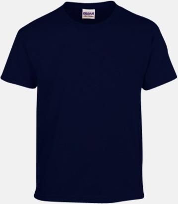 Marinblå (barn) Fina bomulls t-shirts för herr, dam & barn med reklamtryck