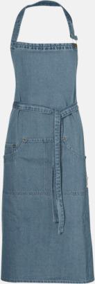 Denim Jeansförkläden från Jamie Oliver med reklamtryck