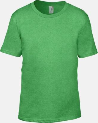 Heather Green (barn) Snygga bas t-shirts för herr, dam & barn - med reklamtryck