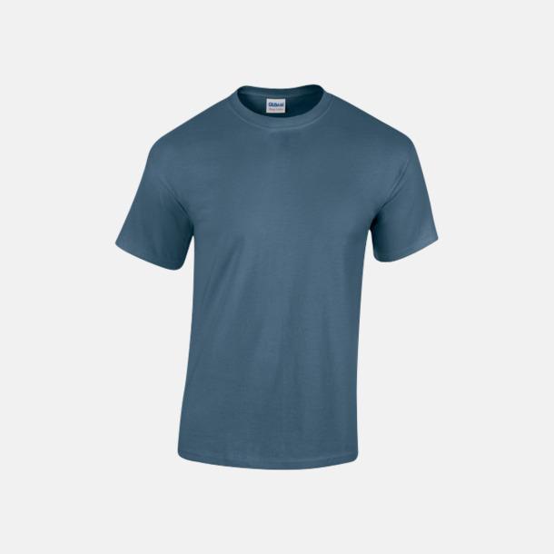 Indigo Blue (herr) Fina bomulls t-shirts för herr, dam & barn med reklamtryck