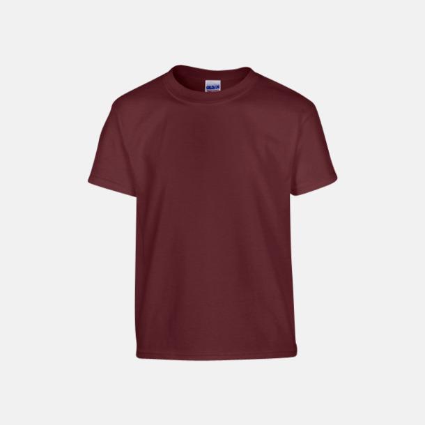 Maroon (barn) Fina bomulls t-shirts för herr, dam & barn med reklamtryck