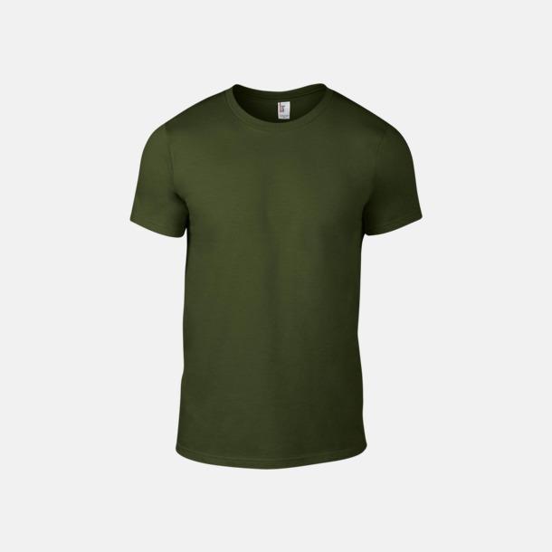 City Green Snygga bas t-shirts för herr & dam - med reklamtryck