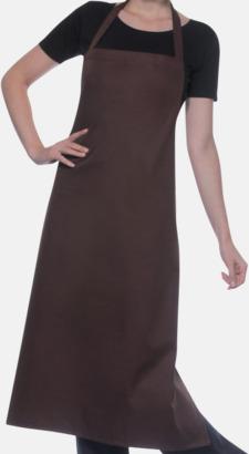 Ljusbrun Prisvärda förkläden med reklamtryck