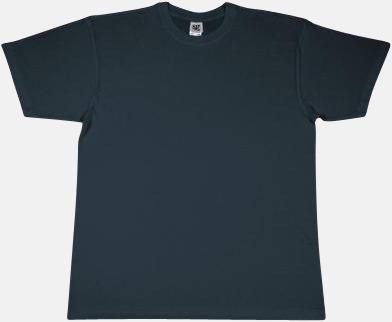 Blue Dusk Extra fina t-shirts i herr-, dam- och barnmodell med reklamtryck