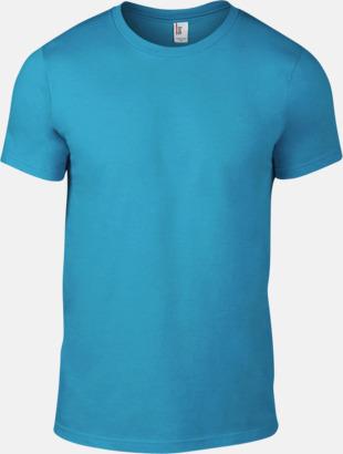 Caribbean Blue (herr) Snygga bas t-shirts för herr, dam & barn - med reklamtryck