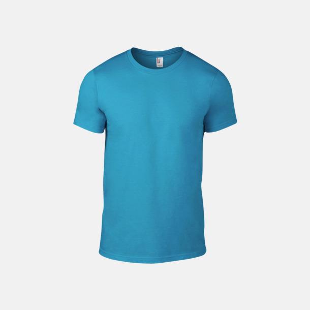 Caribbean Blue (herr) Snygga bas t-shirts för herr & dam - med reklamtryck