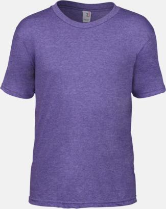 Heather Purple (barn) Snygga bas t-shirts för herr, dam & barn - med reklamtryck
