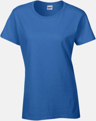 Royal (dam) Fina bomulls t-shirts för herr, dam & barn med reklamtryck