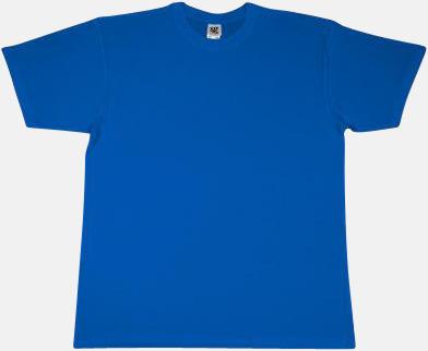 Cobalt Extra fina t-shirts i herr-, dam- och barnmodell med reklamtryck