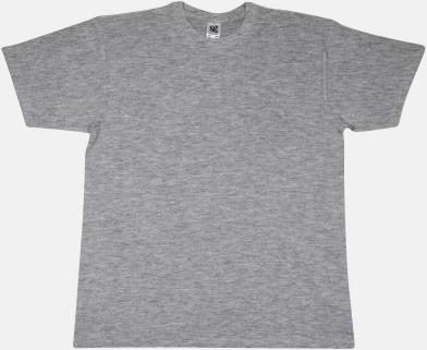 Light Oxford Extra fina t-shirts i herr-, dam- och barnmodell med reklamtryck