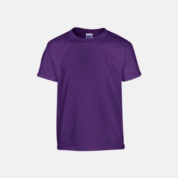Purple (barn) Fina bomulls t-shirts för herr, dam & barn med reklamtryck