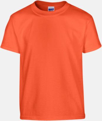 Orange (barn) Fina bomulls t-shirts för herr, dam & barn med reklamtryck