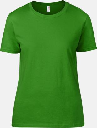 Green Apple (dam) Snygga bas t-shirts för herr, dam & barn - med reklamtryck
