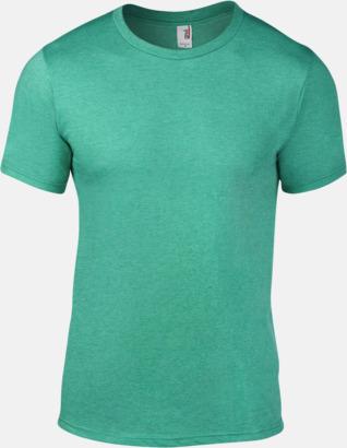 Heather Green (herr) Snygga bas t-shirts för herr, dam & barn - med reklamtryck