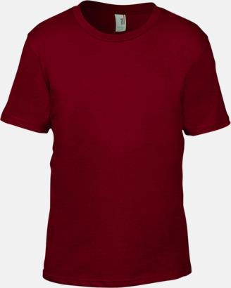 Independence Red (barn) Snygga bas t-shirts för herr, dam & barn - med reklamtryck