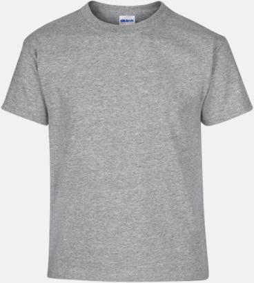 Sport Grey heather (barn) Fina bomulls t-shirts för herr, dam & barn med reklamtryck
