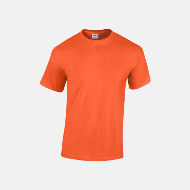 Orange (herr) Fina bomulls t-shirts för herr, dam & barn med reklamtryck