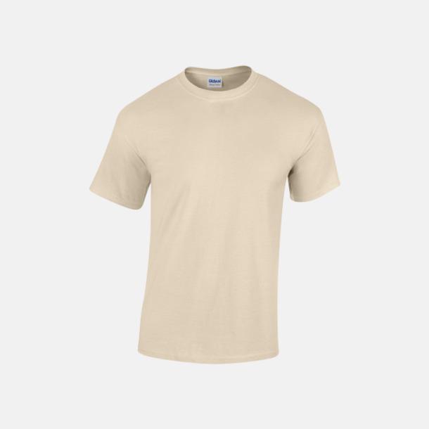 Sand (herr) Fina bomulls t-shirts för herr, dam & barn med reklamtryck
