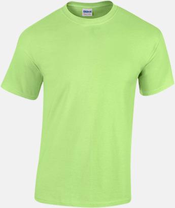 Mint (herr) Fina bomulls t-shirts för herr, dam & barn med reklamtryck