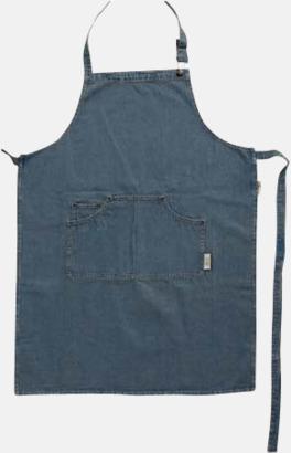 Jeansförkläden från Jamie Oliver med reklamtryck