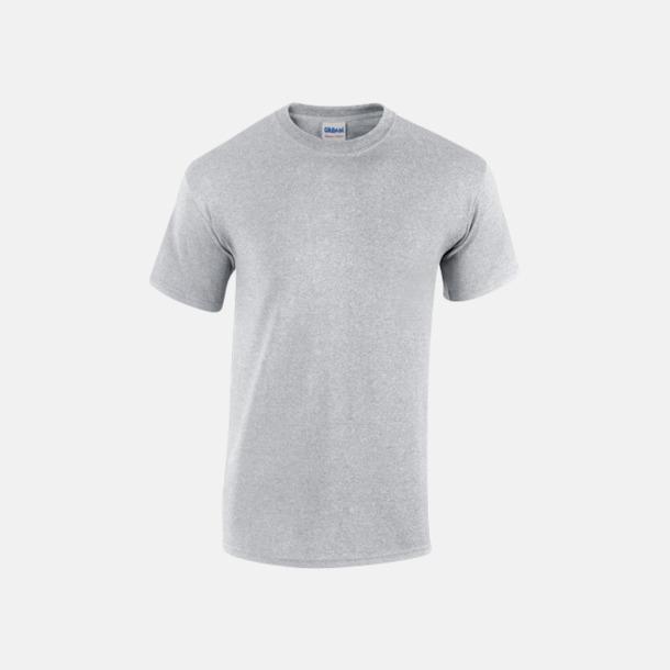 Sport Grey heather (herr) Fina bomulls t-shirts för herr, dam & barn med reklamtryck