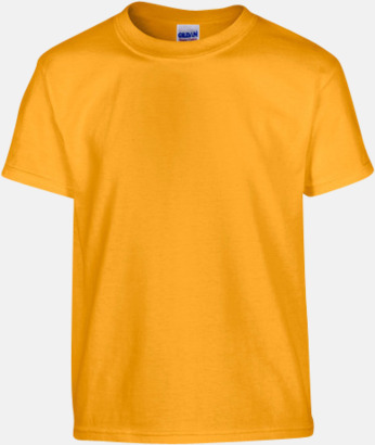 Gold (barn) Fina bomulls t-shirts för herr, dam & barn med reklamtryck