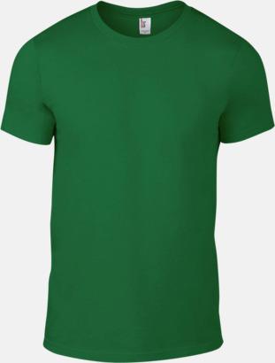 Kelly Green (herr) Snygga bas t-shirts för herr, dam & barn - med reklamtryck