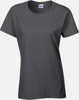 Dark Heather (dam) Fina bomulls t-shirts för herr, dam & barn med reklamtryck