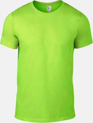 Neon Grön (herr) Snygga bas t-shirts för herr, dam & barn - med reklamtryck