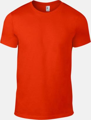 Orange (herr) Snygga bas t-shirts för herr, dam & barn - med reklamtryck