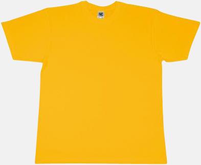 Sunflower Extra fina t-shirts i herr-, dam- och barnmodell med reklamtryck